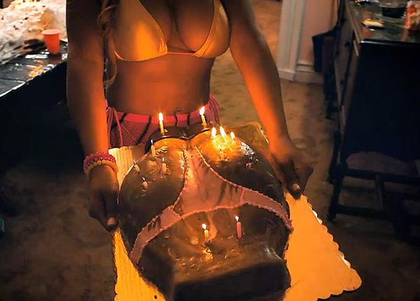 фото майли с тортом