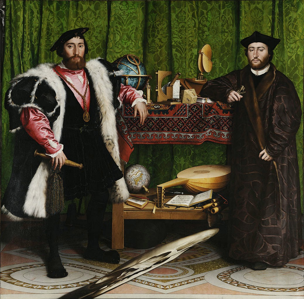 Hans Holbein's The Ambassadors