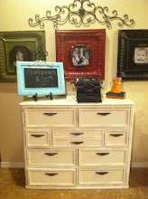 sold- heirloom white dresser