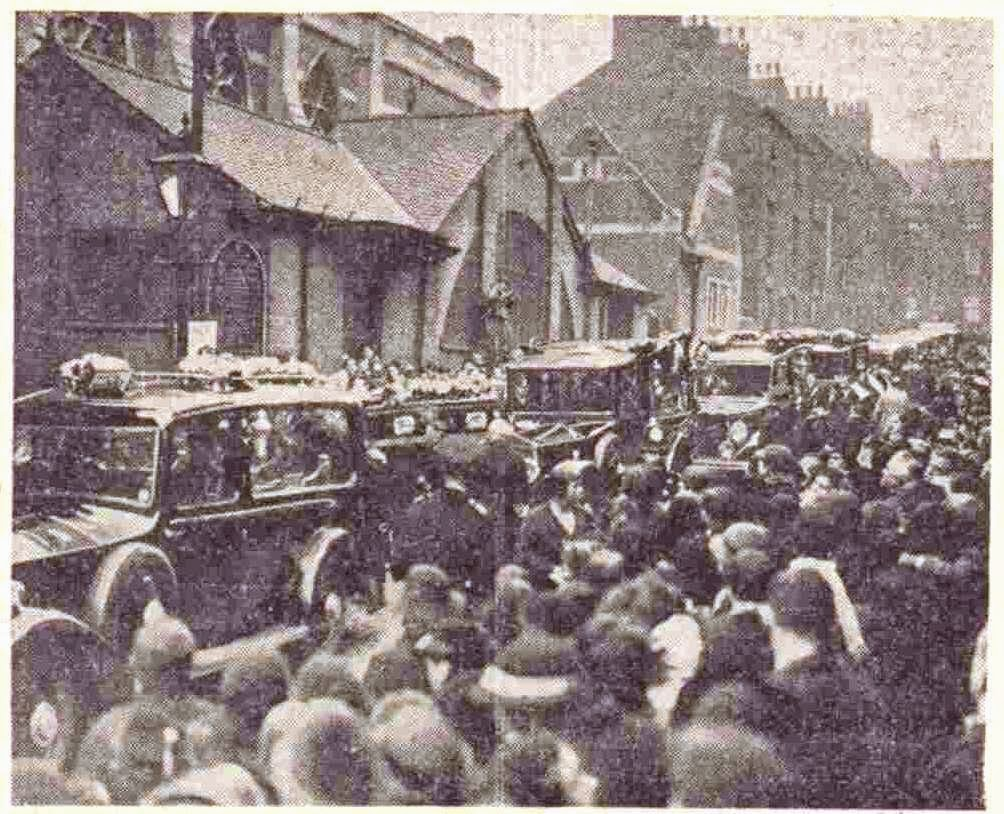 Funeral of the Whiley family
