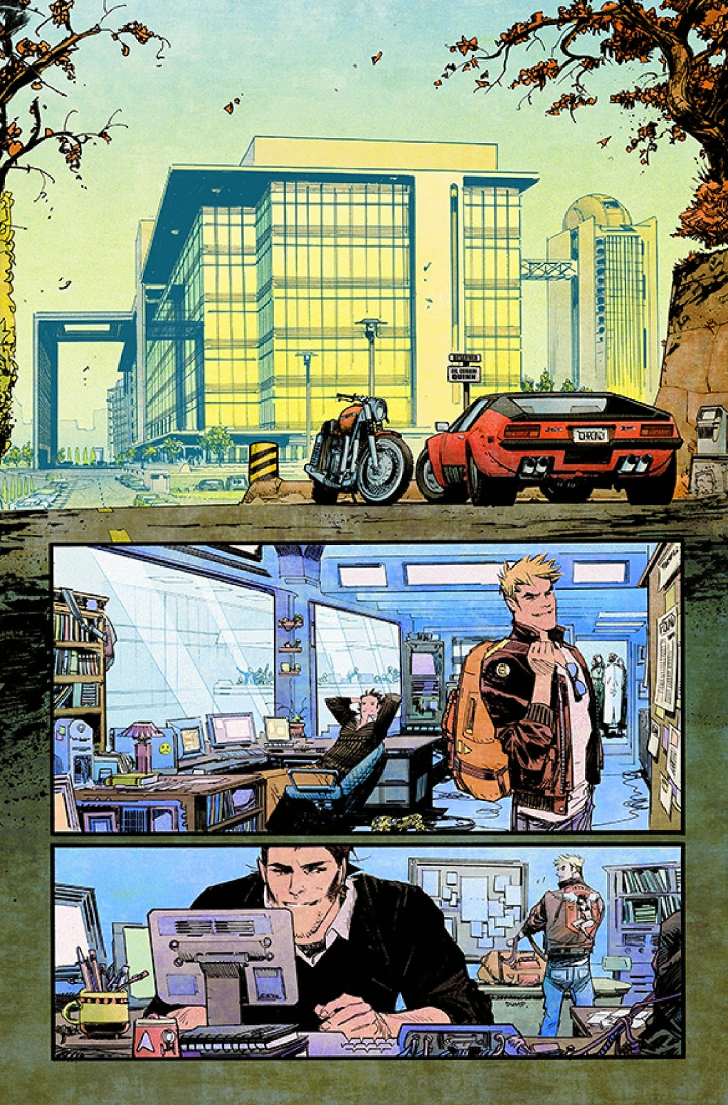 Mark Millar and Sean Murphy hit Chrononauts for #1