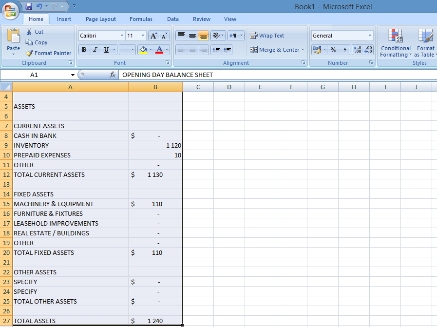 how to change words to uppercase in excel 2007