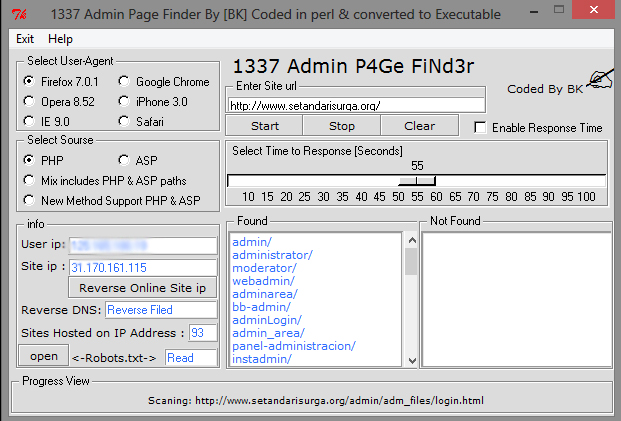 1337 Admin Page Finder - setandarisurga.com