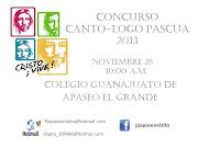 CONVOCATORIA HIMNO-LOGO PASCUA 2013 concurso canto logo pascua