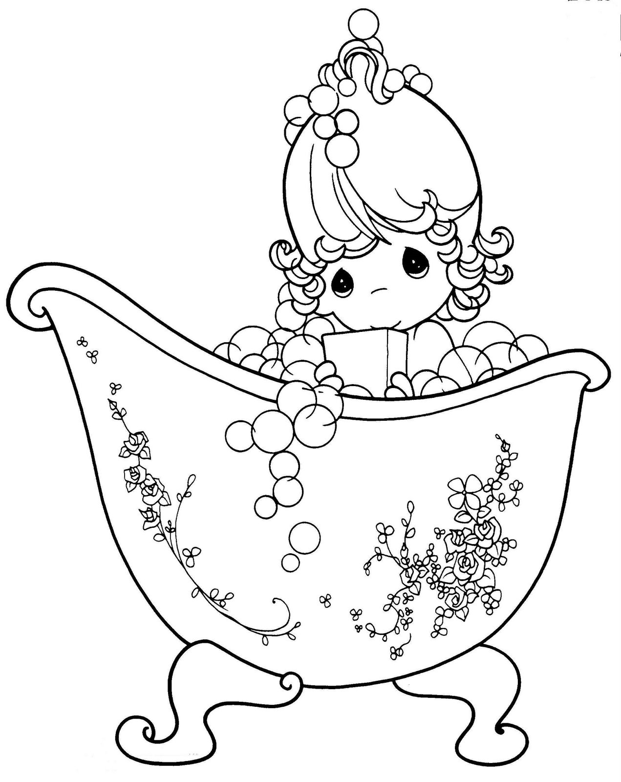 Imagenes De Ba O Para Colorear Dikidu Com # Muebles Dibujos Para Colorear