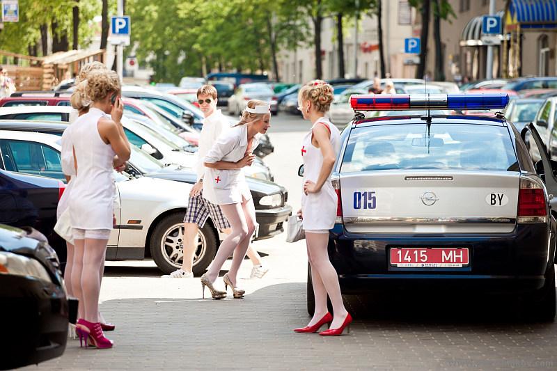 Two blonde nurses russian lesbians go crazy 3