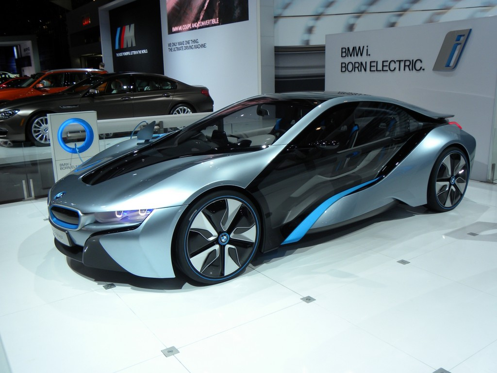 Car Shows 2014: New York Auto Show 2012: BMW shows i8 spyder concept ...