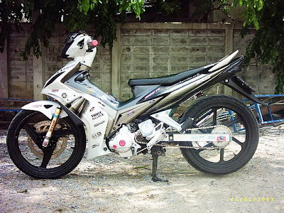 modifikasi yamaha jupiter mx 135 11 yamaha jupiter mx 135 putih new