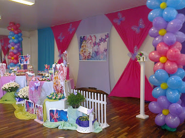 festa Barbie Butterfly