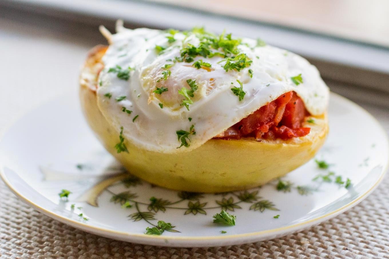 baked tomato sauce baked eggs in chunky tomato eggs baked in eggs ...