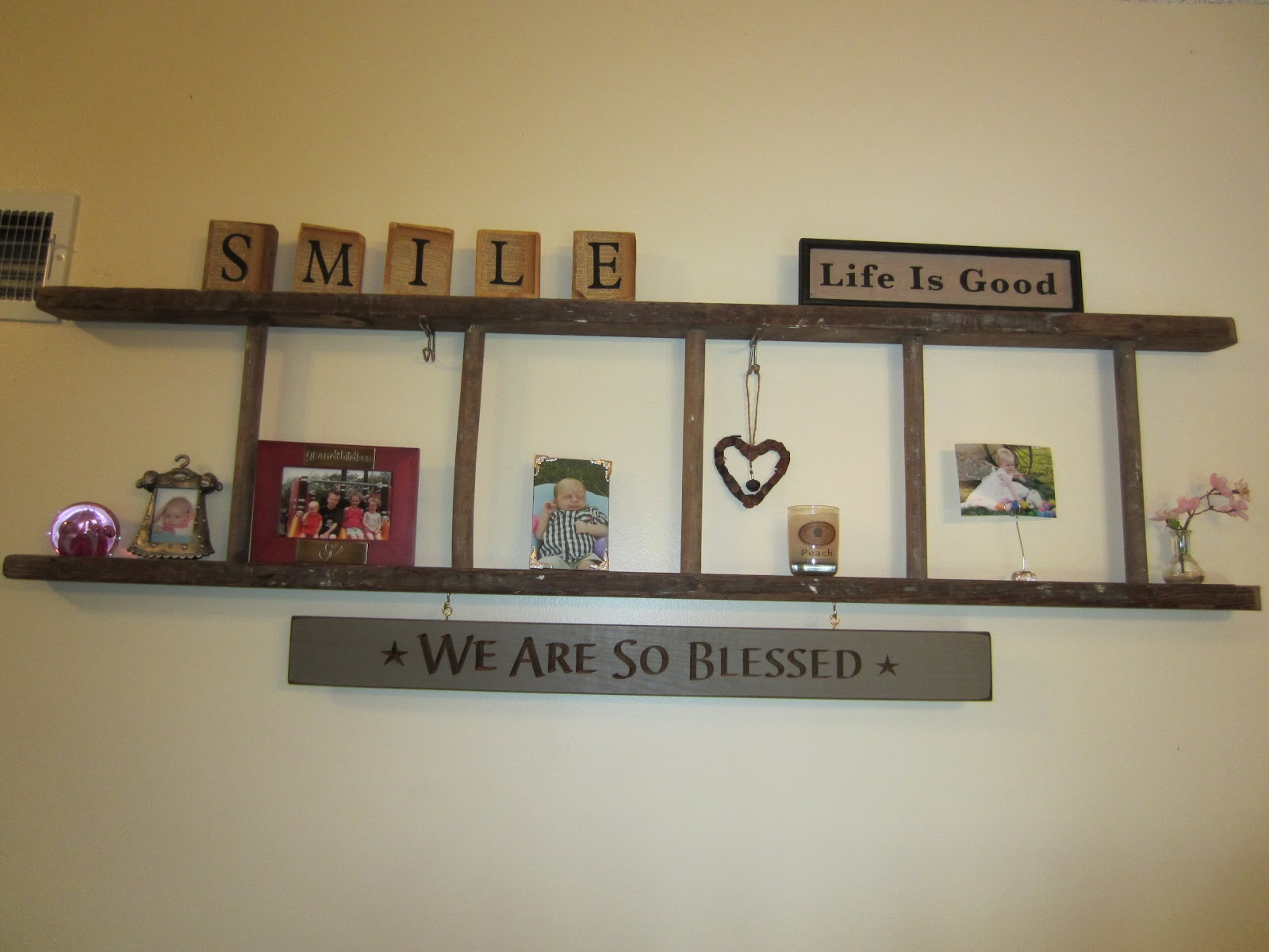 so excited. I just finished hanging my new sign I got Friday in ...