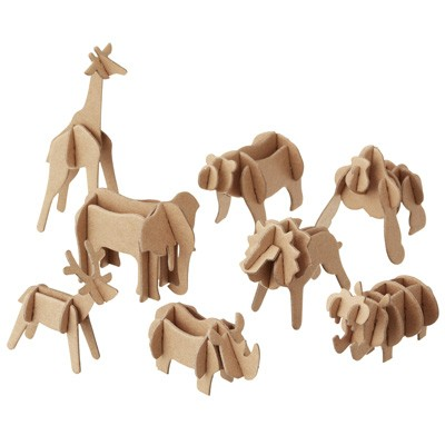 Copy cat chic ferm living plywood animals for Puzzle cutting board plans