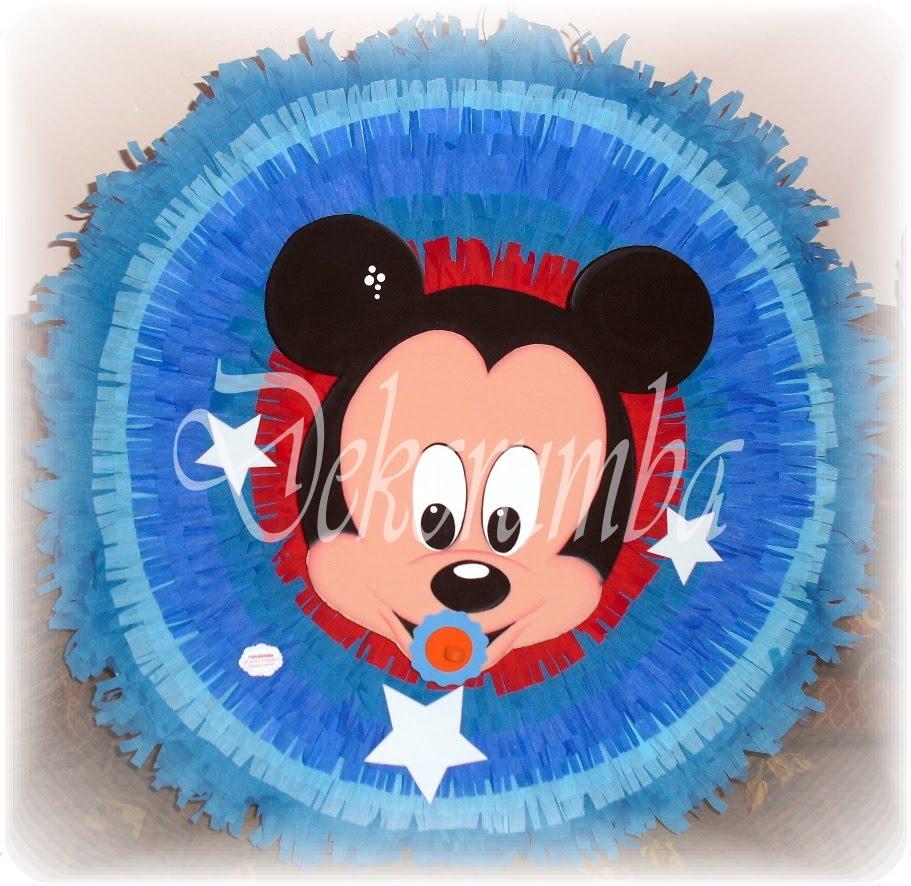 DekoRumba: Piñata Entamborada - Mickey bebe