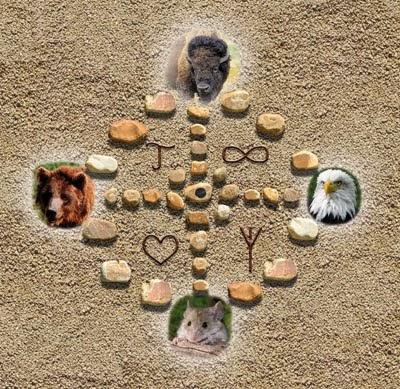ENLACE A LA WEB ANIMALES DEL ALMA: SANADORES Y MAESTROS