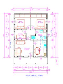Progetti di case in legno casa 71 mq - Progetto casa 120 mq ...