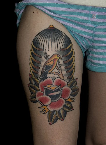all tattoo designs pictures rib cage tattoos