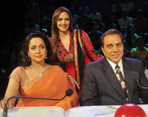 Esha Deol with Father and Mother