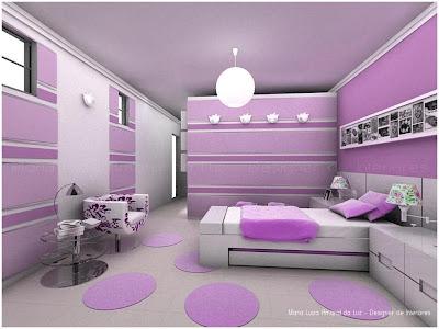 Quartos e Cores - Interiores e Decoração