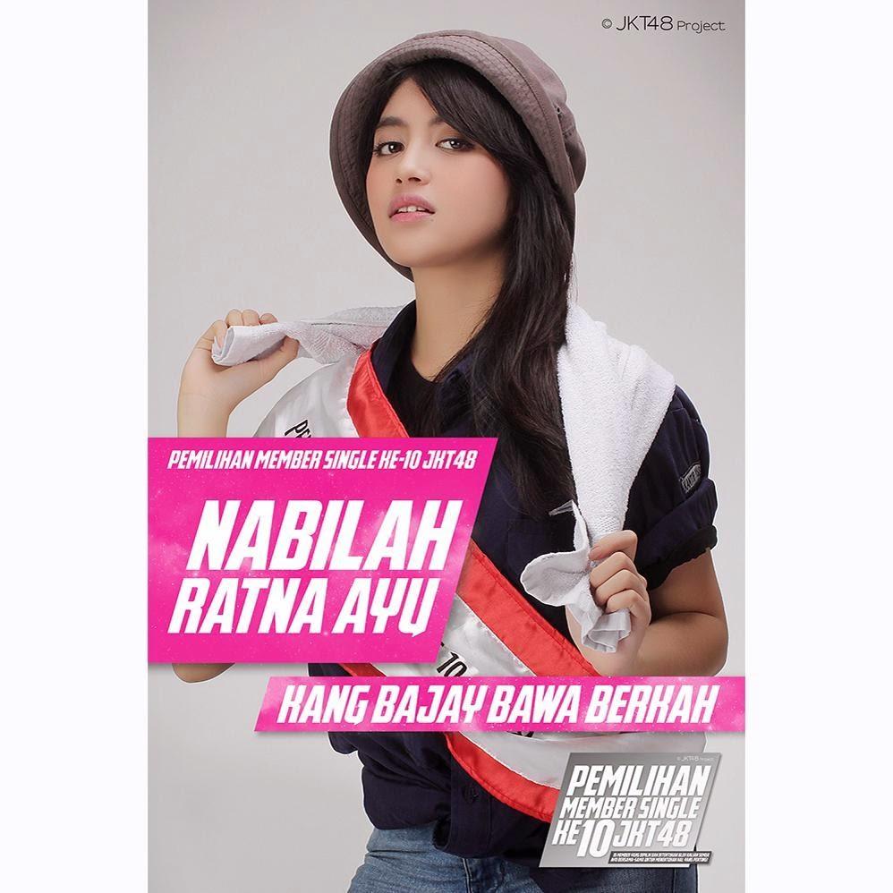 Foto Nabilah JKT48 Kang Bajay Bawa Berkah