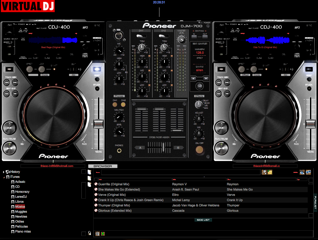 Virtual Dj 7 Skins search results