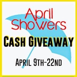 Enter the $500 April Showers Cash Giveaway. Ends 4/22.