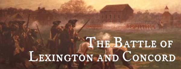 the battles of lexington and concord essay