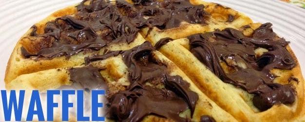 Receitas de Waffle