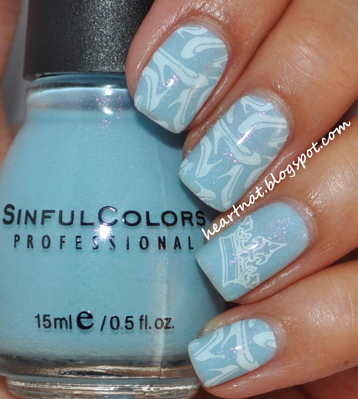 Cinderella Inspired Nail Art: French Nail Art: Cinderella Inspired Nails