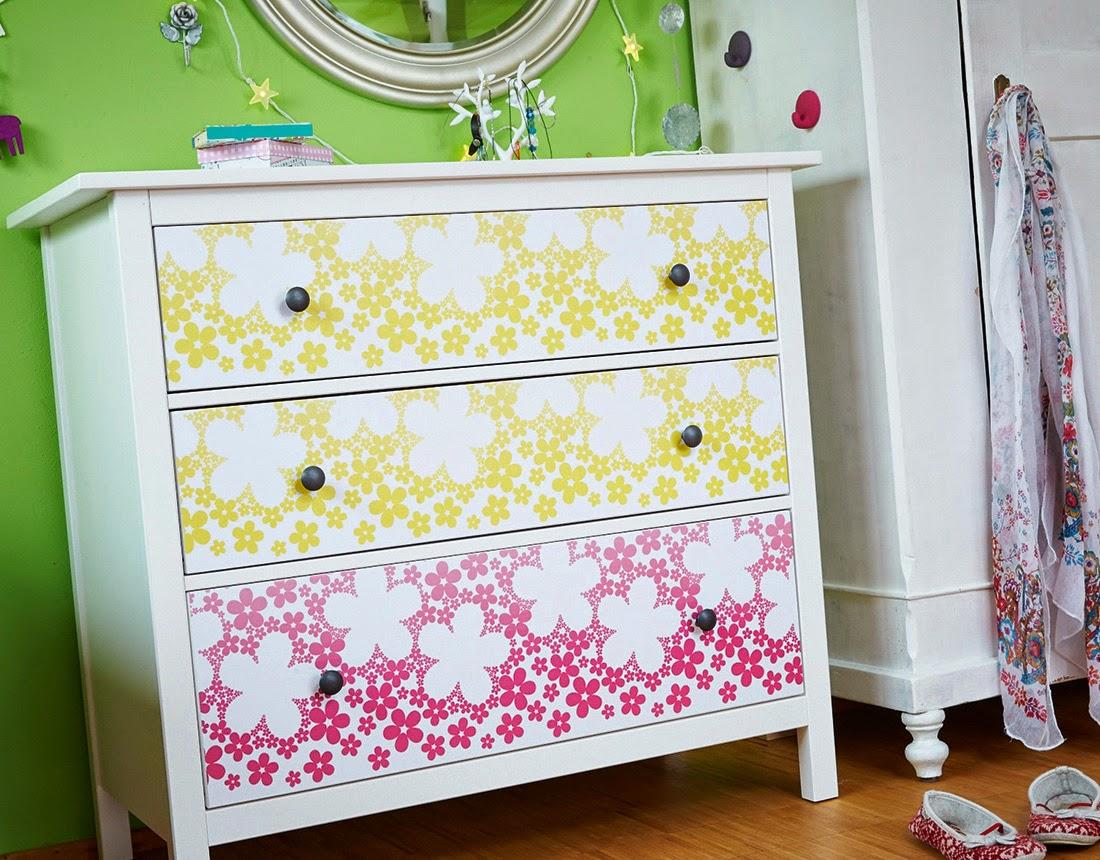 Papel pintado autoadhesivo para muebles dise os - Papel para forrar muebles ...
