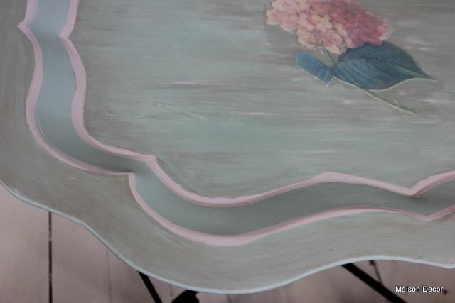 Fantastic Maison Decor Decoupage Tole Tray Table And Workshop Download Free Architecture Designs Osuribritishbridgeorg