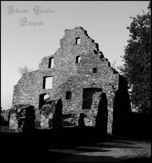 Ruine eines alten Gebäude