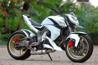 Modifikasi Tiger Tahun 2011 Putih