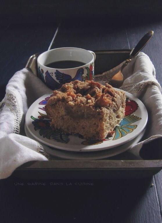 cinnamon orange crumb cake | une gamine dans la cuisine