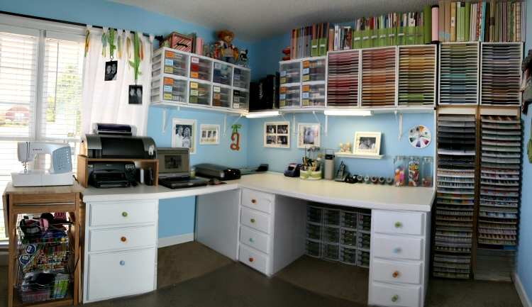 Even A Small Home Or Apartment Can Have A Craft Closet Transform One