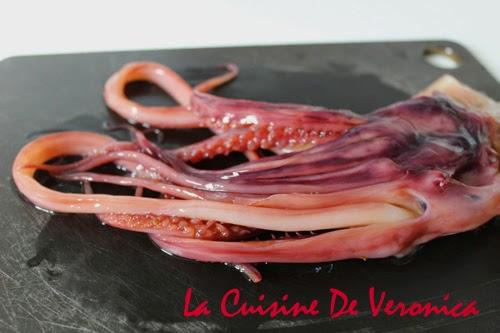 La Cuisine De Veronica 浸發水魷