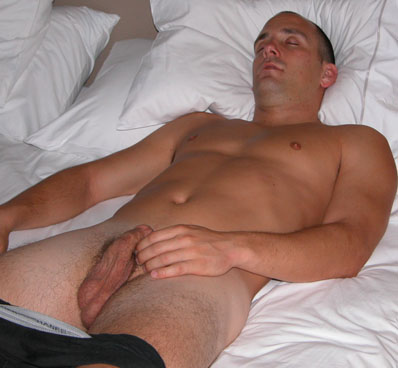 passed out drunk guy naked