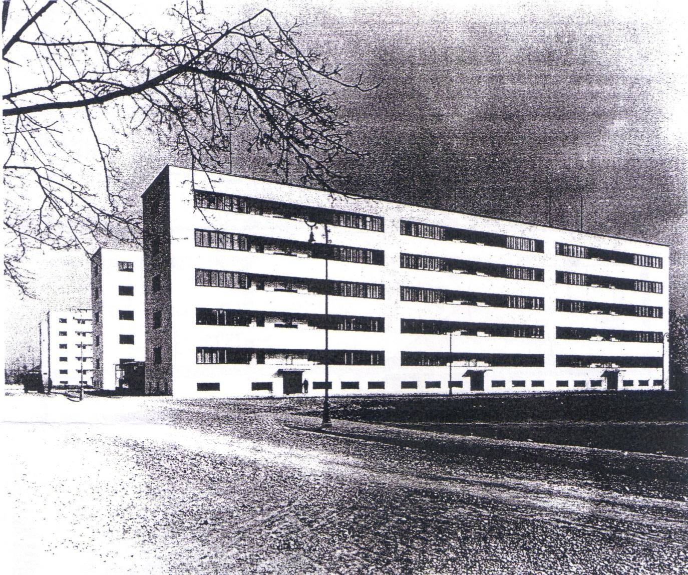 Historia de la arquitectura moderna apartamentos m nimos for Historia de la arquitectura moderna