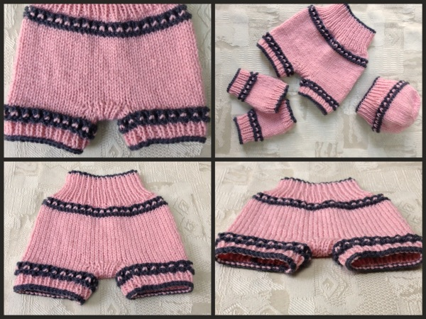 Hand Made Rukodelky High Waisted Pinkie Shorts For Baby Free