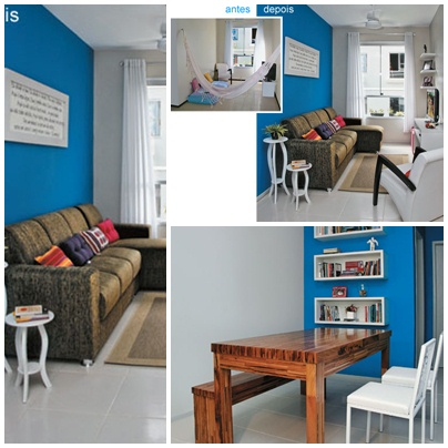 Salas Pequenas! - Jeito de Casa - Blog de Decoração