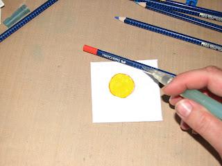 aquarelle pencils how to use