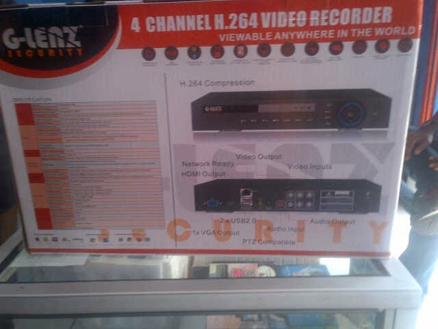 Dvr g-lenz gds 8504HD HDMI 960H Suport USB Modem 3G