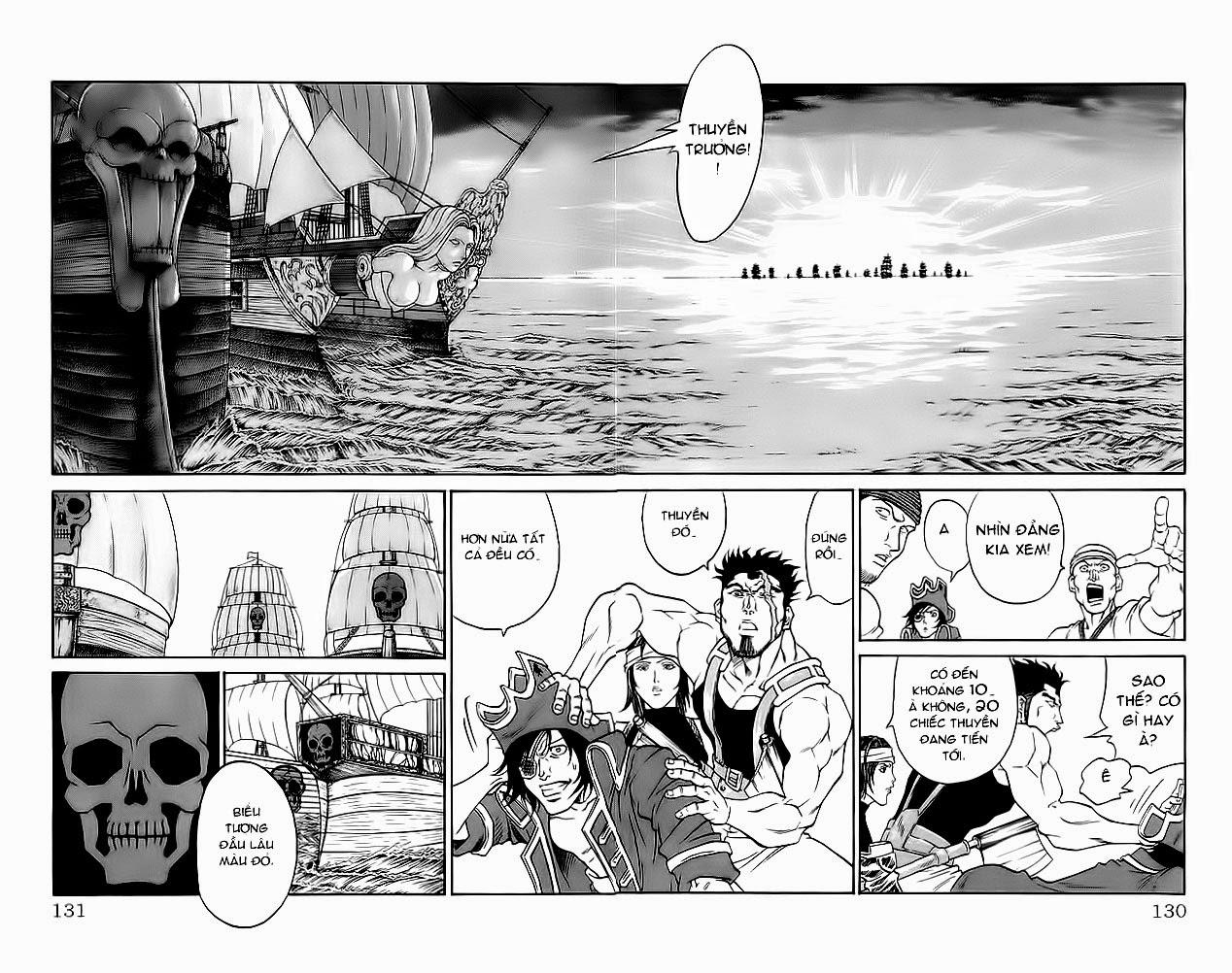 Vua Trên Biển – Coco Full Ahead chap 220 Trang 4 - Mangak.info