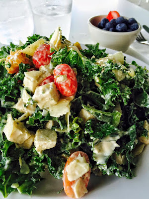 Sono Cafe - Chicken Kale Caesar Salad - Tampa Museum of Art