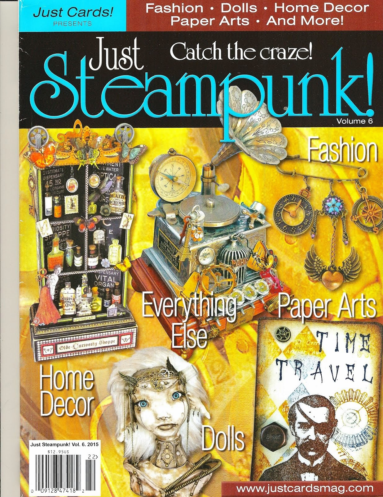 Just Steampunk Magazine Publication