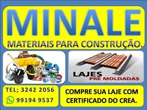 MINALE MATERIAL PARA CONSTRUÇÃO.