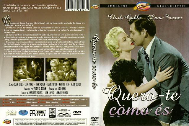 Capa DVD Quero te Como És