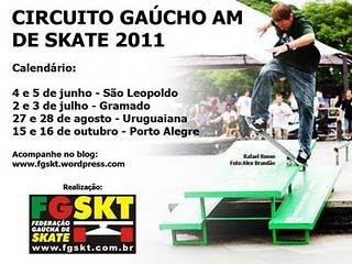Circuito Gaúcho de Skate Amador 2011 bdef06b9bb5c4