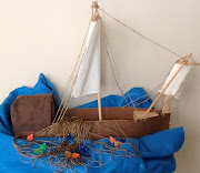 Fishing boat visual for Disciples. 6. (CB 51) So we have Simon, .