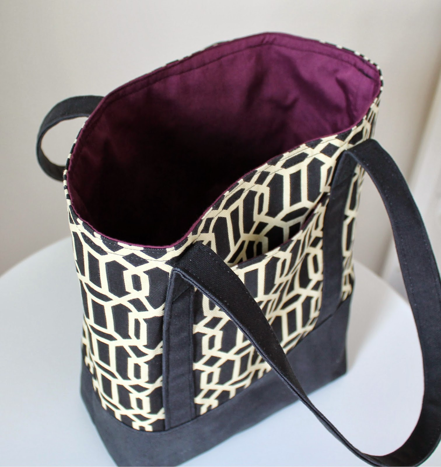 TUTORIAL: Lined Canvas Tote