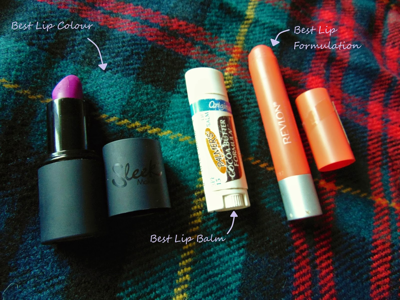 best of 2014 lips sleek palmers and revlon